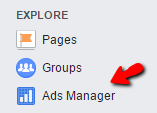 Facebook Ads Manager Link