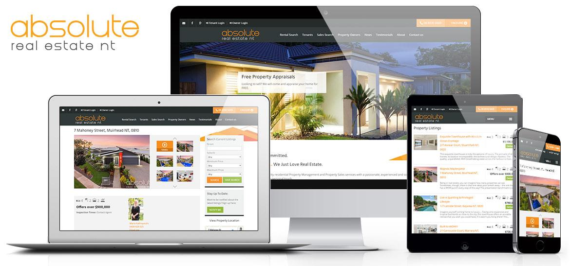 Real estate website deign and development